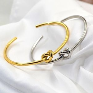 Jewelry - New Arrival Chic Fashion Knot Lovers Bangle